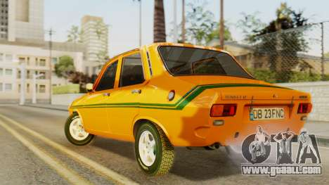 Renault 12 Gordini for GTA San Andreas left view