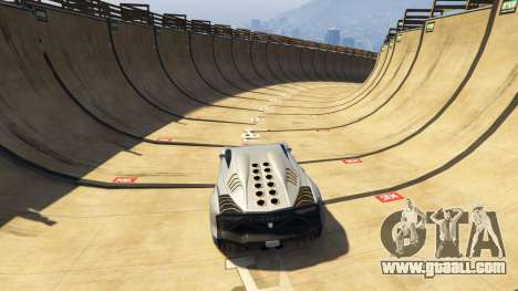 GTA 5 Maze Bank Mega Spiral Ramp third screenshot