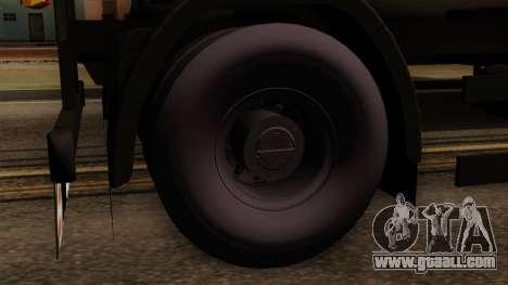 GTA 5 Fieldmaster Wood Trailer for GTA San Andreas back left view