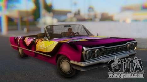 Savanna New PJ for GTA San Andreas right view