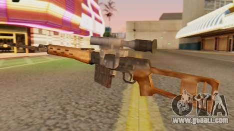 SVD SA Style for GTA San Andreas second screenshot