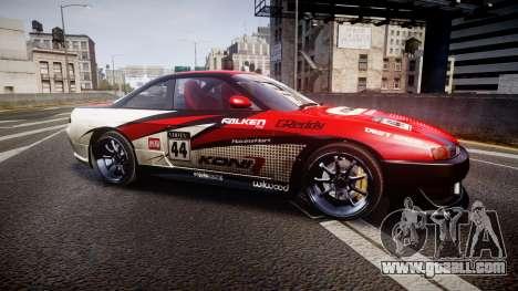 Nissan Silvia S14 Koni for GTA 4 left view