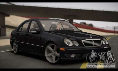 Mercedes-Benz C32 W203 2004 for GTA San Andreas