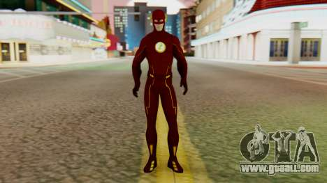 The Flash More Red for GTA San Andreas second screenshot