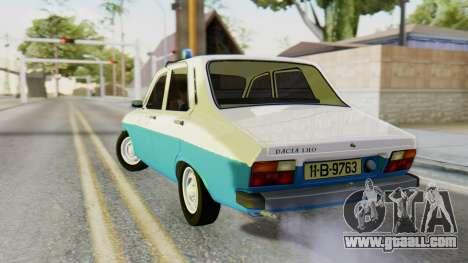 Dacia 1310 Militia for GTA San Andreas left view