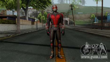 Ant-Man Red for GTA San Andreas second screenshot