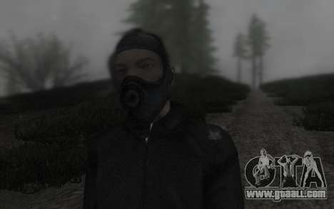 GTA5 Gasmask for GTA San Andreas third screenshot