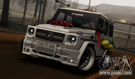 Mercedes Benz G65 Hamann Tuning Wedding Version for GTA San Andreas