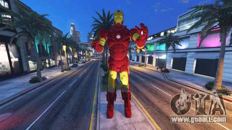 GTA 5 The statue of iron man second screenshot