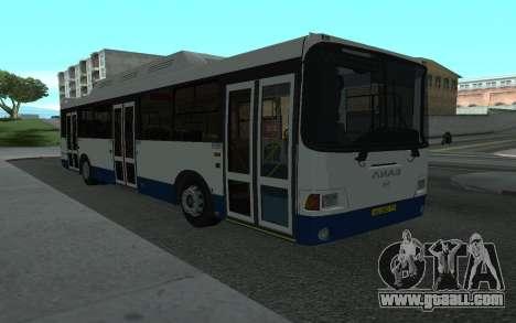 LiAZ 5293.70 for GTA San Andreas
