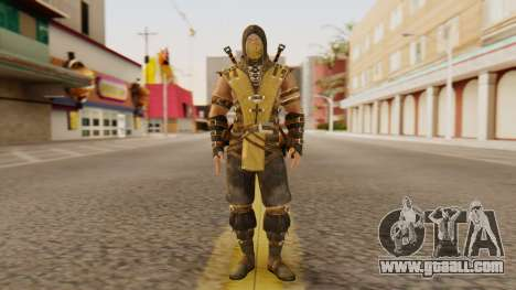 Scorpion [MKX] for GTA San Andreas second screenshot