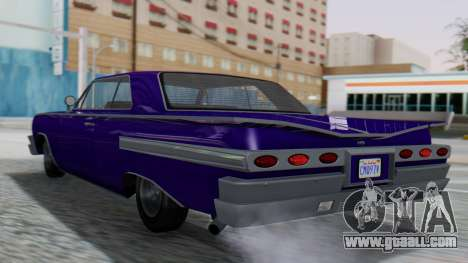 GTA 5 Declasse Voodoo IVF for GTA San Andreas left view