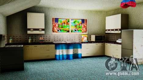 Stern Design House CJ for GTA San Andreas forth screenshot