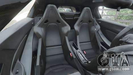 GTA 5 McLaren P1 2014 steering wheel