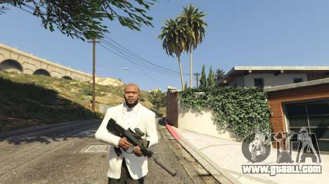 GTA 5 Battlefield 4 Famas second screenshot