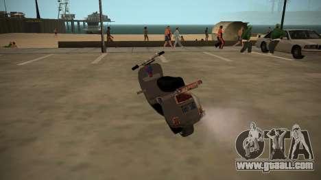 Stunt-Faggio for GTA San Andreas left view