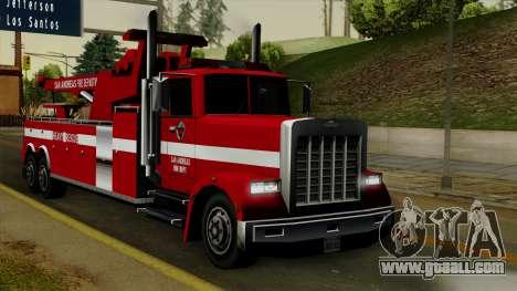 FDSA Heavy Rescue Truck for GTA San Andreas