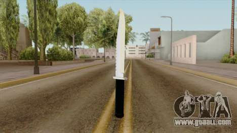 Original HD Knife for GTA San Andreas