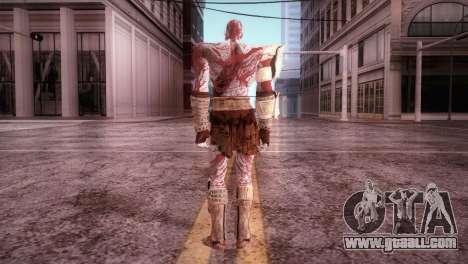 God Of War 3 Kratos Blood for GTA San Andreas third screenshot