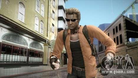 New Jhon Albert Wesker from Resident Evil for GTA San Andreas