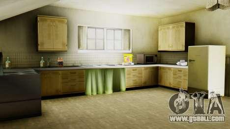 The new interior of CJ house for GTA San Andreas seventh screenshot