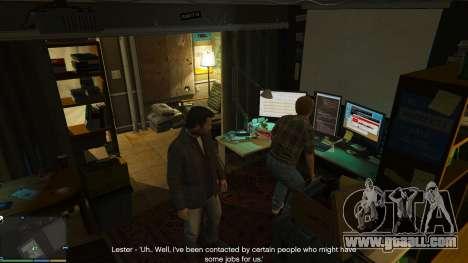 GTA 5 Story Mode Heists [.NET] 0.1.4 sixth screenshot
