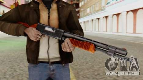 Xshotgun Pump action shotgun for GTA San Andreas third screenshot