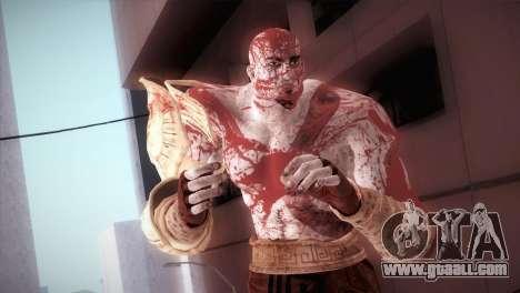 God Of War 3 Kratos Blood for GTA San Andreas