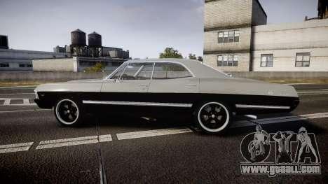 Chevrolet Impala 1967 Custom for GTA 4 left view