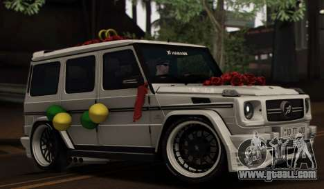 Mercedes Benz G65 Hamann Tuning Wedding Version for GTA San Andreas bottom view