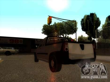 Dacia Logan Pick-up Necarosat for GTA San Andreas back left view
