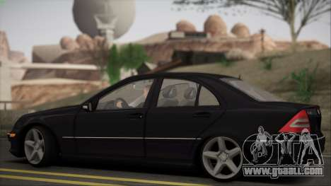 Mercedes-Benz C32 W203 2004 for GTA San Andreas back view