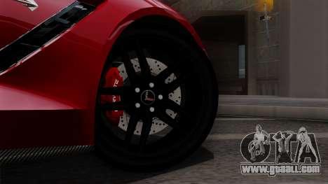 Chevrolet Corvette C7 Stingray 1.0.1 for GTA San Andreas right view