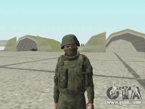Pak fighters of special troops of GRU for GTA San Andreas tenth screenshot