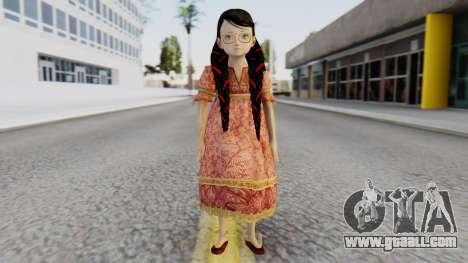 Cereza Bayonetta (child) for GTA San Andreas second screenshot