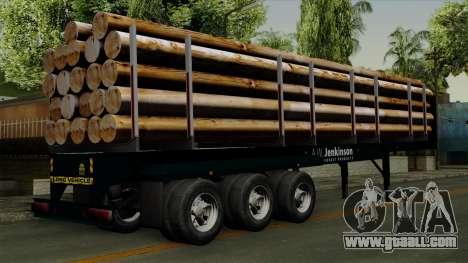 Trailer Log v2 for GTA San Andreas left view