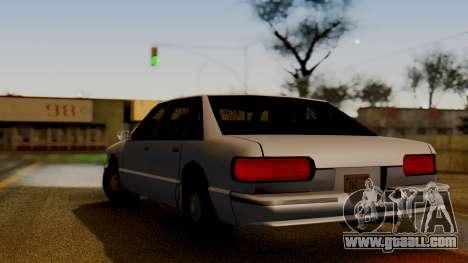 Declasse Premier for GTA San Andreas left view