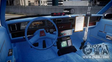 Chevrolet Caprice 1989 LAPD [ELS] for GTA 4 back view