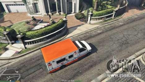 Mission ambulance v.1.3 for GTA 5