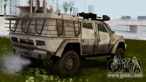 BAE Systems JLTV for GTA San Andreas left view