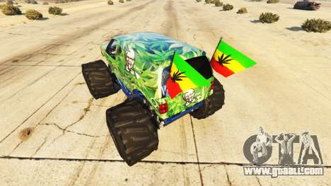 Vapid The Liberator Cannabis for GTA 5