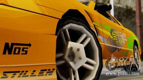 Elegy Supra PJ for GTA San Andreas right view