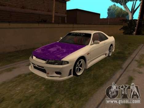 Nissan Skyline R33 Drift Monster Energy JDM for GTA San Andreas