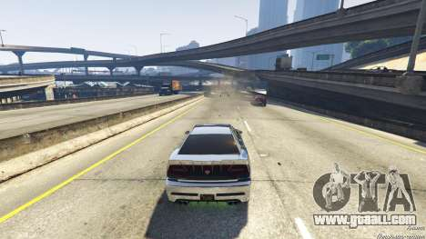 GTA 5 Death trap on the highway sixth screenshot