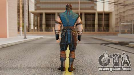 [MKX] Sub-Zero Unmasked for GTA San Andreas third screenshot