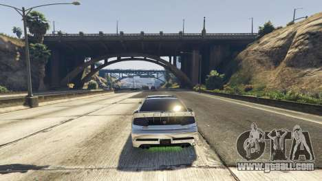 GTA 5 Death trap on the highway second screenshot