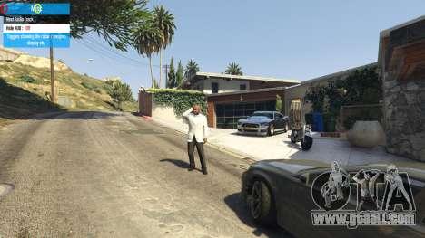 GTA 5 QF Mod Menu 0.3 fifth screenshot