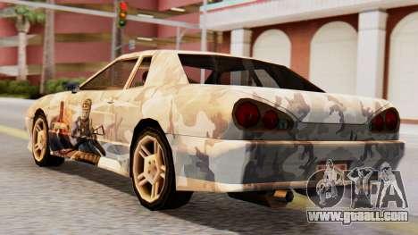 Elegy Contract Wars Vinyl for GTA San Andreas left view