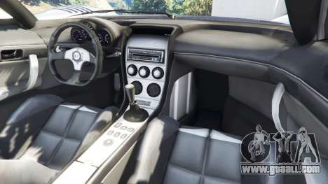 GTA 5 Saleen S7 2002 v1.0 [Beta] rear right side view