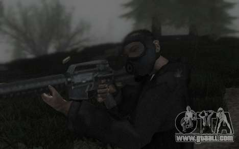 GTA5 Gasmask for GTA San Andreas fifth screenshot